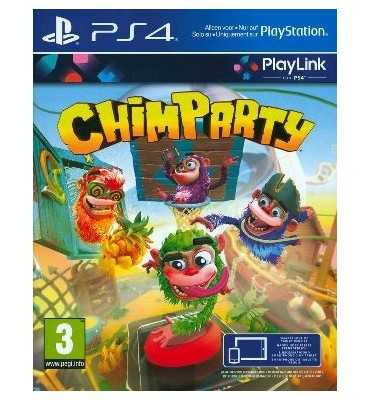 Sony Chimparty video game PlayStation 4 Basic